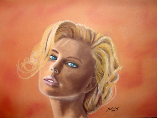 Charlize Theron by 2tones